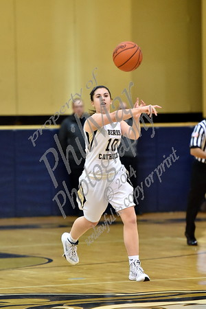 Berks Catholic vs Hamburg Girls Varsity & JV Basketball 2015 -2016
