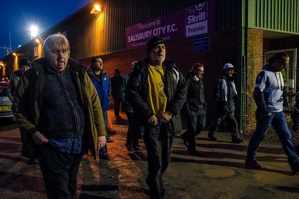 Salisbury City - Raymond McEnhill Stadium