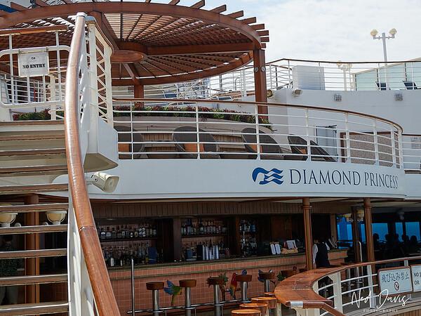 Aboard the Diamond Princess