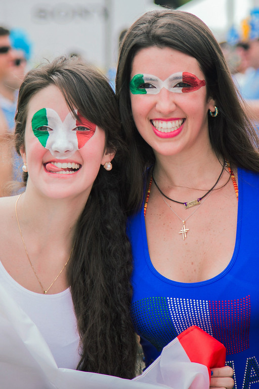 . Fans arrive before the Group D match between Italy and Uruguay at Estadio das Dunas during the 2014 World Cup on June 24, 2014 in Natal, Brazil. (Photo by Diego Marcel/Getty Images)