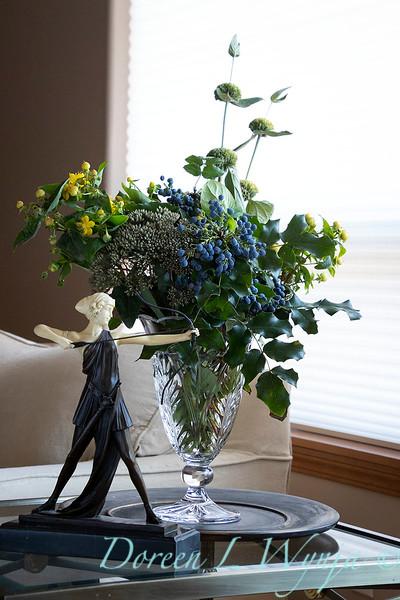 Mahonia - Sedum - Hypericum arrangement_2145.jpg