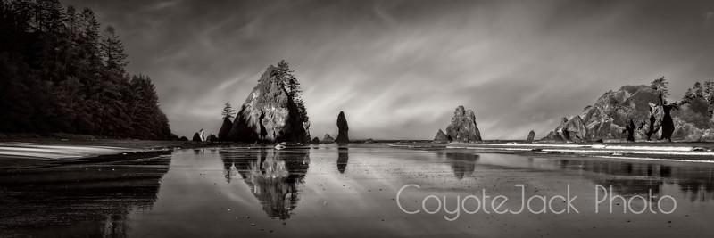 Early morning, Ruby Beach, Washington