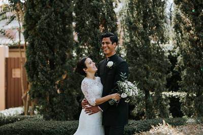 Claudia + Luis' Wedding at The Parador Houston - Second Photographer for Ron Dillon