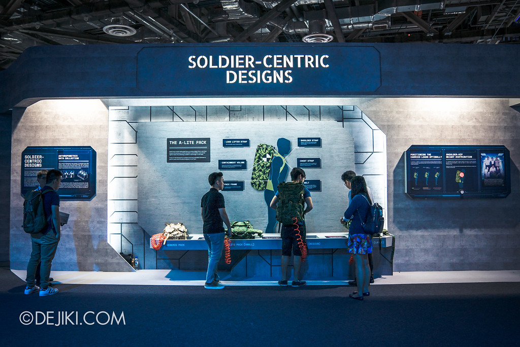 Defence Technology Community 50th Anniversary - SG Defence Exhibition 2016 / Soldier-centric Designs
