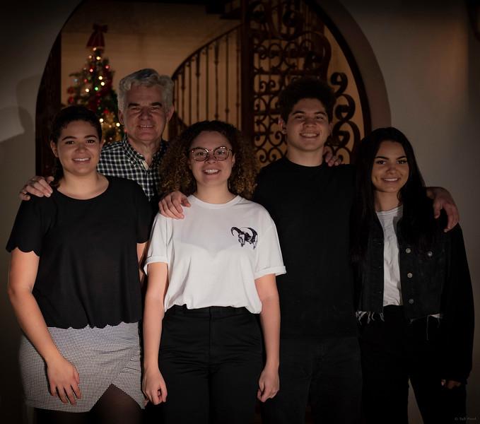Cara, Marcus, Holly, Michael, Ruth