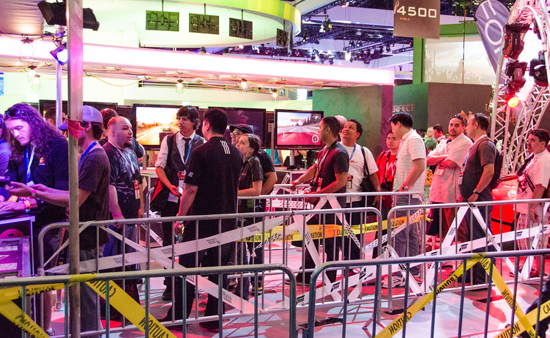Just some line at E3 2012
