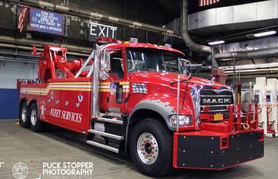 Facility Tour - FDNY Fleet Services, Brooklyn, NY - 5/9/17