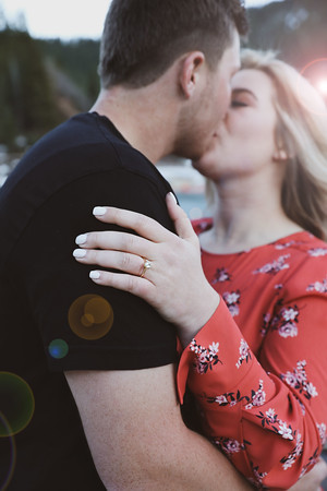 Elle and McKay's engagements