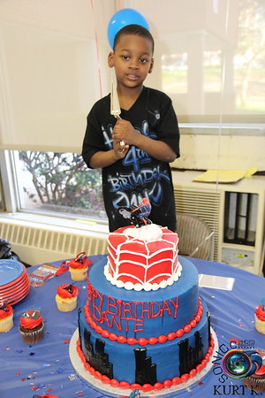 APRIL 23RD, 2016: DAUNTE'S 4TH BIRTHDAY BASH