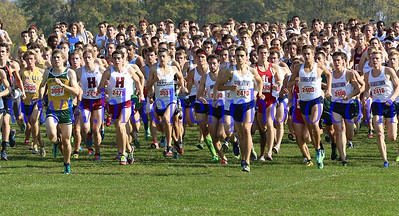 October 5, 2013 - Paul Short XC Invitational - Men's Open Race