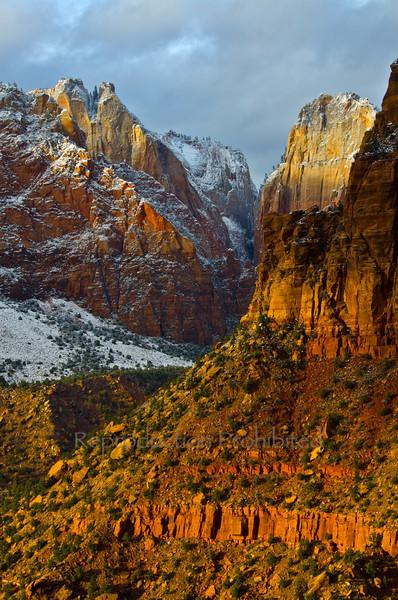 The Sentinel Zion National Park, Utah December 2012