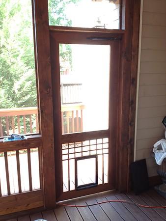 Cedar Screen Doors