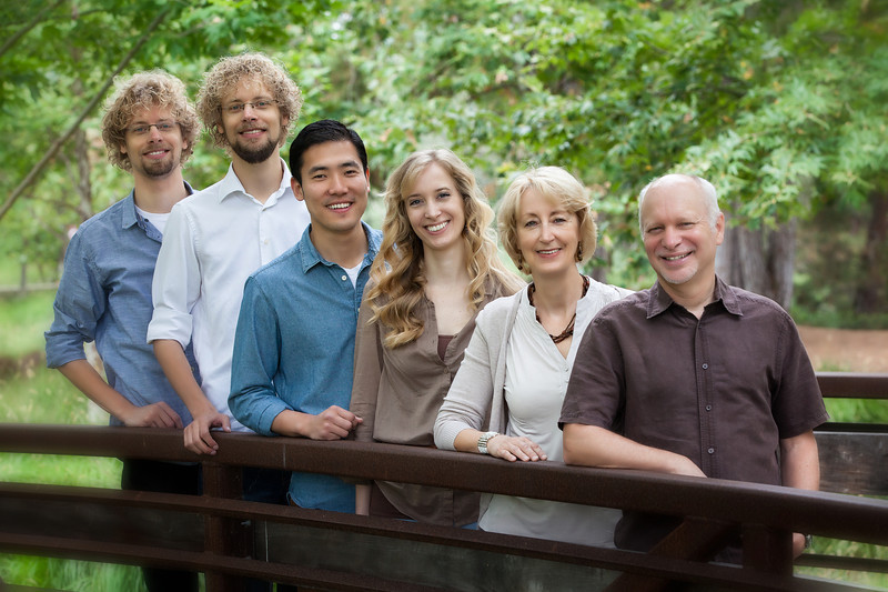 Abraham Marieke and Family