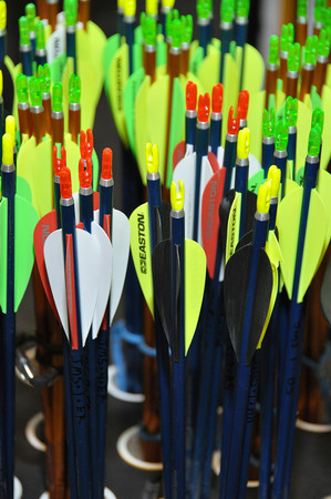 Jefferson Middle School Archery Practice 2-18-13