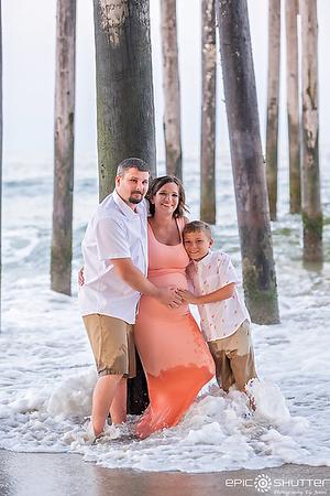 Maternity Portraits, Rodanthe, NC, Hatteras Photographers