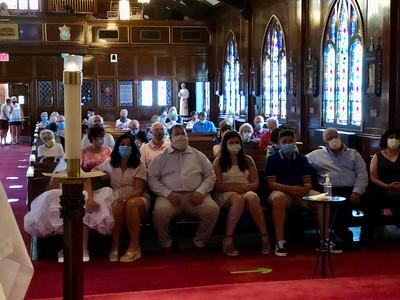 2020.08.02 First Weekend Masses as St. Matthew
