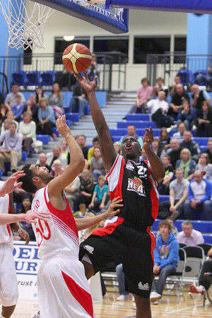 Guildford Heat v Leicester Riders BBL Trophy Semi-final (30.10.10) LQ