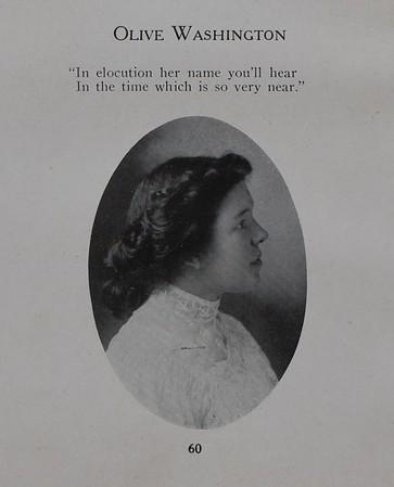 Carleton College   --Olive Washington