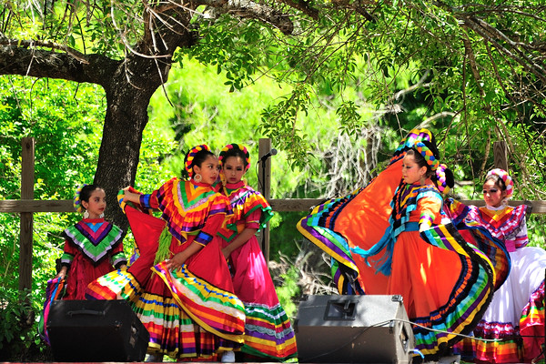A Day in Old Mexica and Charreada, part of San Antonio's Fiesta
