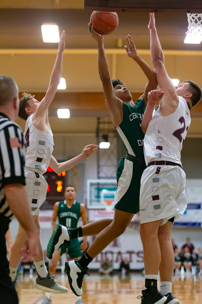 2019-20 Mid Penn Conference Tournament   Central Dauphin vs. Shippensburg   February 11, 2020