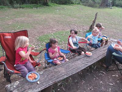 Camping at Coolendel October 2013