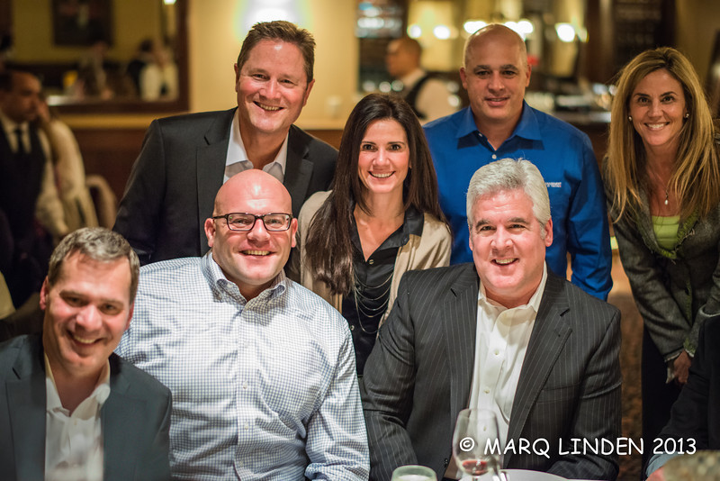 RANDY ORTIZ, HAL DEWSNAP, JOHN RABER, ESAD KAJOSEVIC AND TABLE