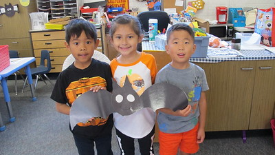 It's All About Bats for PCY Kindergartners