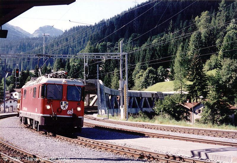 RhB-615 - Klosters - 29-08-1996