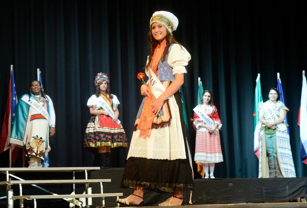 . Maribeth Joeright/MJoeright@News-Herald.com <p> Megan Casselman, Slovenian Princess, was one of the contestants of the 48th annual Lorain International Princess Pageant, June 26, 2014.