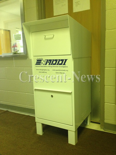 07-31-14 NEWS Drug Drop Off Box