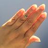 1.56ct Rustic Rose Cut Diamond Bezel Ring, by Single Stone 23