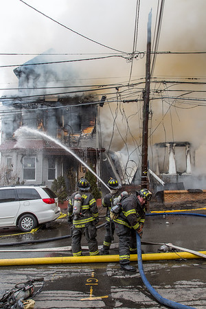 Paterson NJ 4th alarm,  40 & 42 Hopper St. 02-27-19