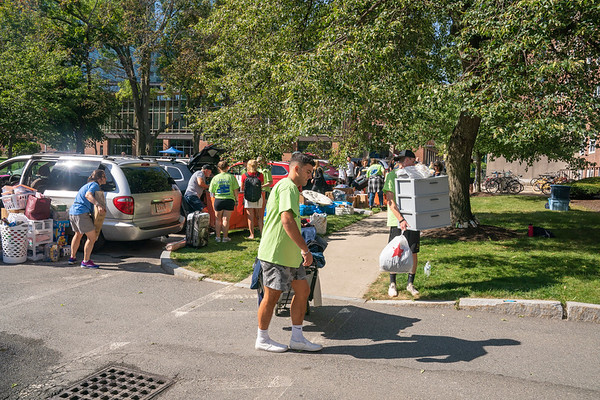Emmanuel College: Move-In Day 9/1/19