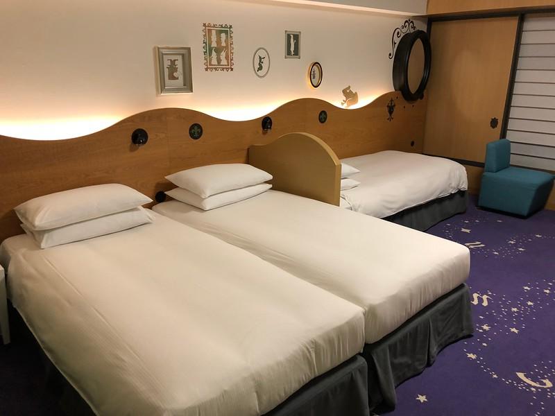 Hilton Tokyo Bay Family Happy Magic Room