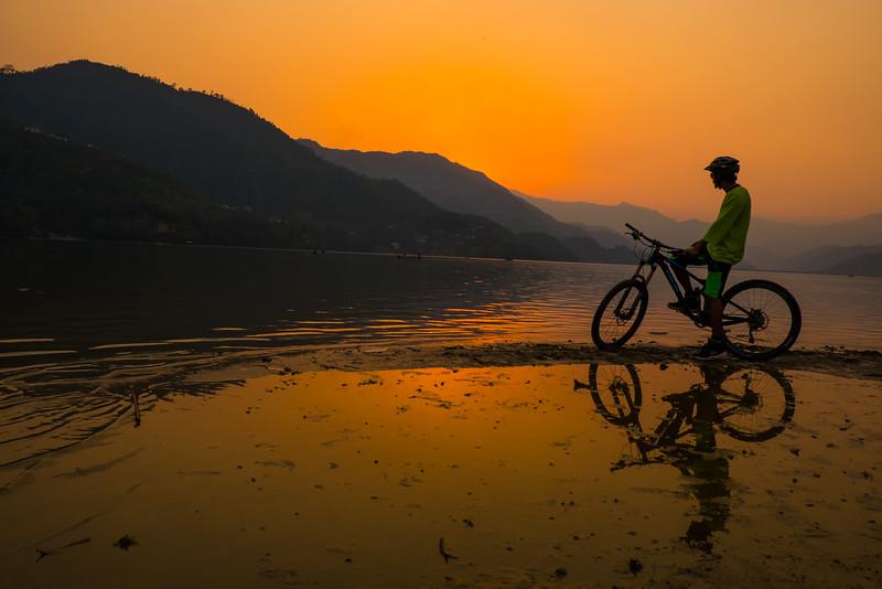 Pokhara, Nepal, mountain biking