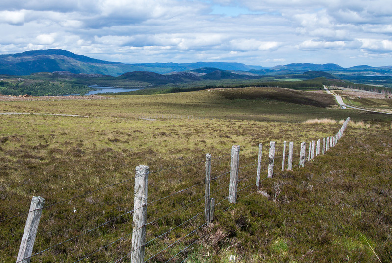The Scottish Highlands is one of the most sparsly populated areas of Europe.