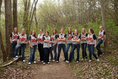 West Salem softball TEAM SB11