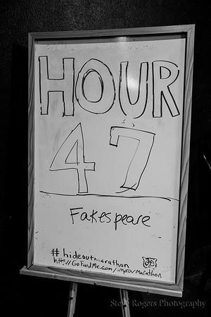 Hour 47: Fakespeare 48-Hour Marathon June 25, 2017 1:00PM