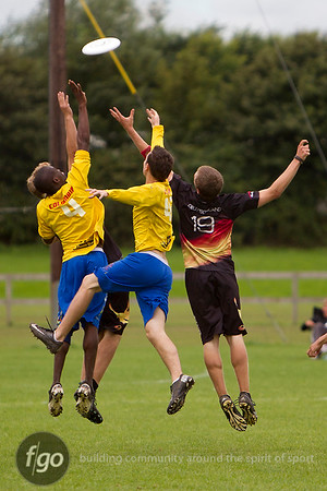 2012 WFDF World Junior Ultimate Championships - Colombia v Germany Open Semi-Finals 8-17-12