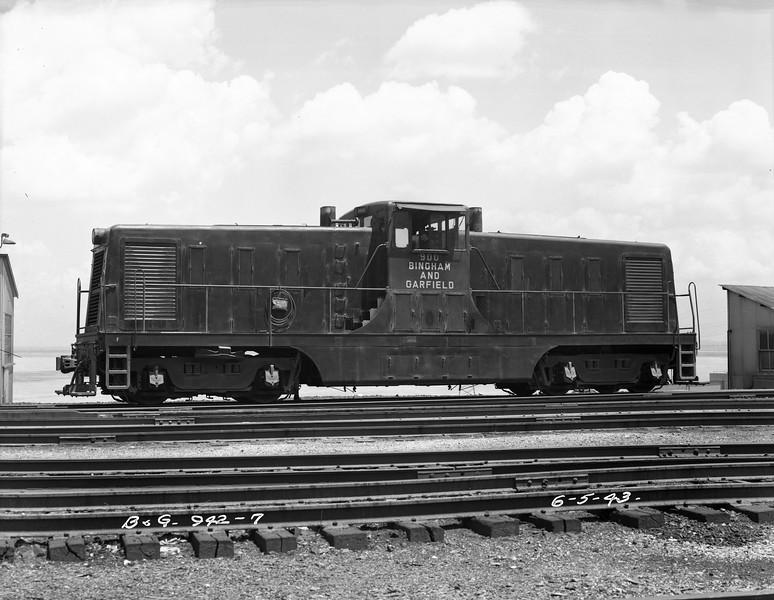 Bingham and Garfield 900, June 5, 1943.