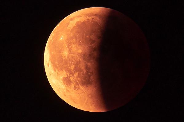 Blood Moon Eclipse 2018-07-28