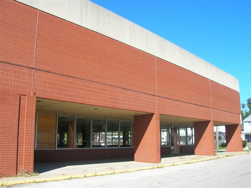 . Historic photo provided by Jim Smith <br> Another view of the second Lorain High School before it was demolished in 2009. It was also known as Lorain Middle School for a decade.