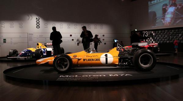 F1 Exhibition, Te Papa Museum - Wellington, NZ.