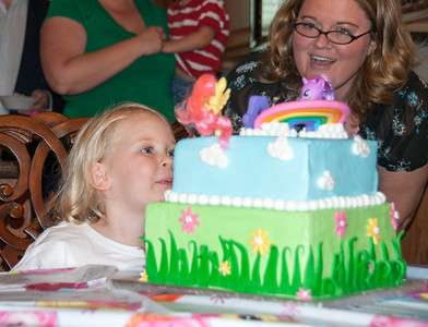 Chloe's 4th Birthday 2012