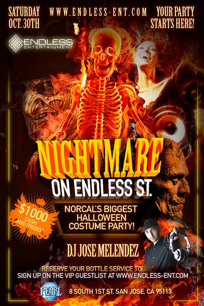 10/30 [Nightmare on Endless St.@Pearl]