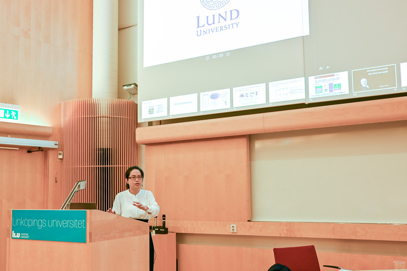 Huiqi presents her thesis