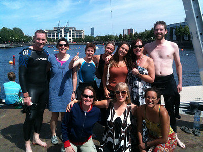 22mile relay swim