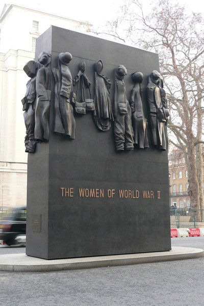 Monument to the Women of World War II. London