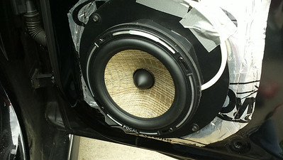 2010 Audi A5 Premium Plus Front Door Speaker Installation - USA