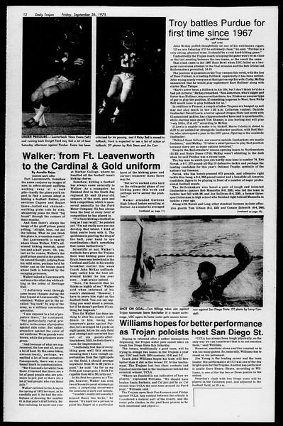 Daily Trojan, Vol. 68, No. 8, September 26, 1975